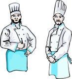 μάγειρες δύο απεικόνιση αποθεμάτων
