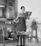 Μάγειρες μπαμπάδων στοκ φωτογραφία με δικαίωμα ελεύθερης χρήσης