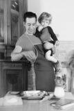 Μάγειρες μπαμπάδων Στοκ εικόνες με δικαίωμα ελεύθερης χρήσης