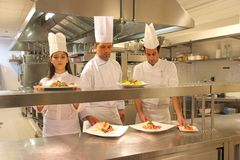 μάγειρες Στοκ Εικόνες