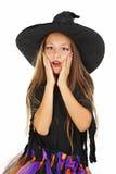 Μάγισσα κοριτσιών Στοκ εικόνα με δικαίωμα ελεύθερης χρήσης