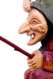 μάγισσα ξύλινη Στοκ εικόνα με δικαίωμα ελεύθερης χρήσης