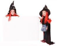 μάγισσες παιδιών Στοκ φωτογραφία με δικαίωμα ελεύθερης χρήσης