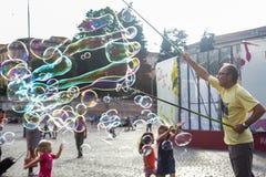 Μάγος παιδιών ` s Στοκ φωτογραφίες με δικαίωμα ελεύθερης χρήσης