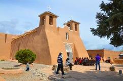 Μάζα Πάσχας η εκκλησία του Σαν Φρανσίσκο de Asis Mission Στοκ φωτογραφία με δικαίωμα ελεύθερης χρήσης