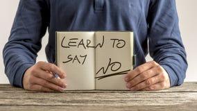 Μάθετε να λέτε το αριθ. Στοκ φωτογραφία με δικαίωμα ελεύθερης χρήσης