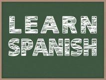 Μάθετε τα ισπανικά Στοκ Φωτογραφία
