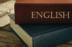 Μάθετε την αγγλική έννοια Στοκ εικόνες με δικαίωμα ελεύθερης χρήσης