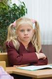μάθημα κοριτσιών Στοκ Εικόνες