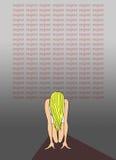 Μάθημα: Λυπηθείτε για. Αφίσα τυπογραφίας Στοκ φωτογραφία με δικαίωμα ελεύθερης χρήσης