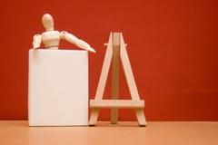 Μάθημα τέχνης Στοκ εικόνα με δικαίωμα ελεύθερης χρήσης