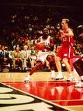 Μάικλ Τζόρνταν Chicago Bulls στοκ εικόνα