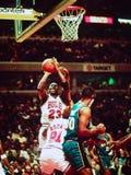 Μάικλ Τζόρνταν Chicago Bulls Στοκ φωτογραφία με δικαίωμα ελεύθερης χρήσης