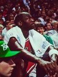Μάικλ Τζόρνταν Chicago Bulls Στοκ φωτογραφίες με δικαίωμα ελεύθερης χρήσης