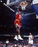 Μάικλ Τζόρνταν Chicago Bulls Στοκ Φωτογραφίες