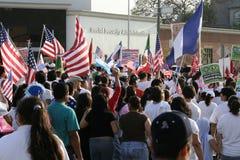 Μάιος ημέρα Μάρτιος γεμίζει τις οδούς στο Λος Άντζελες, Καλιφόρνια Στοκ φωτογραφίες με δικαίωμα ελεύθερης χρήσης