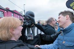 Μάιος το τέταρτο είναι με σας φεστιβάλ του Star Wars Στοκ Εικόνες