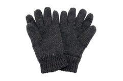 Μάλλινα χειμερινά γάντια Στοκ Εικόνα