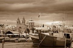 Μάλτα marsaxlokk Στοκ εικόνα με δικαίωμα ελεύθερης χρήσης