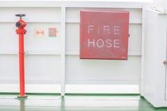 μάνικα πυρκαγιάς και πυρκαγιά στροφίγγων στοκ εικόνα με δικαίωμα ελεύθερης χρήσης