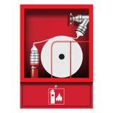 Μάνικα πυροσβεστών ελεύθερη απεικόνιση δικαιώματος