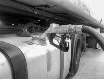 Μάνικα του ανεφοδιασμού σε καύσιμα καυσίμων Στοκ εικόνες με δικαίωμα ελεύθερης χρήσης