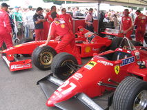 Μάντρα Ferrari. Στοκ εικόνες με δικαίωμα ελεύθερης χρήσης