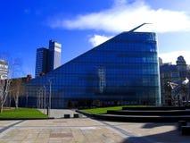 Μάντσεστερ, UK, σύγχρονος ουρανοξύστης Στοκ Φωτογραφίες
