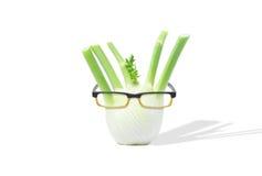 Μάραθο με τα γυαλιά Στοκ Εικόνα