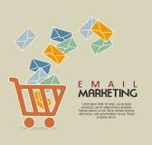 Μάρκετινγκ ηλεκτρονικού ταχυδρομείου Στοκ εικόνες με δικαίωμα ελεύθερης χρήσης