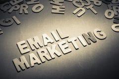 Μάρκετινγκ ηλεκτρονικού ταχυδρομείου Στοκ Εικόνες
