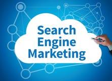 Μάρκετινγκ μηχανών αναζήτησης Στοκ φωτογραφίες με δικαίωμα ελεύθερης χρήσης