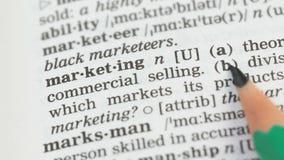 Μάρκετινγκ, σημασία που γράφεται στο αγγλικό λεξιλόγιο, επιτυχής επιχειρησιακός προγραμματισμός απόθεμα βίντεο