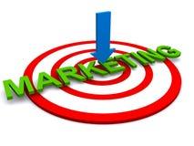 μάρκετινγκ στοχοθετημέν&omi διανυσματική απεικόνιση