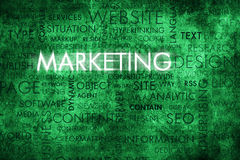 Μάρκετινγκ στοκ φωτογραφία με δικαίωμα ελεύθερης χρήσης