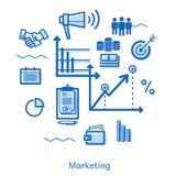 Μάρκετινγκ απεικόνιση αποθεμάτων