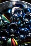 Μάρμαρα γυαλιού Στοκ εικόνα με δικαίωμα ελεύθερης χρήσης