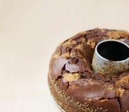 μάρμαρο κέικ Στοκ Εικόνα