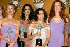 Μάρσια Κρος, Eva Longoria, Felicity Huffman, Terri Hatcher Στοκ φωτογραφία με δικαίωμα ελεύθερης χρήσης