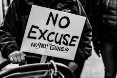 Μάρτιος για τις ζωές μας Σιάτλ Στοκ φωτογραφία με δικαίωμα ελεύθερης χρήσης