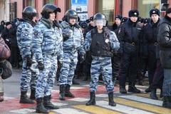 Μάρτιος που Boris Nemzov Στοκ εικόνα με δικαίωμα ελεύθερης χρήσης