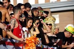 Μάρτιος την ημέρα της ομοφυλοφιλικής υπερηφάνειας 14 Στοκ φωτογραφία με δικαίωμα ελεύθερης χρήσης