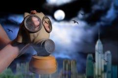 μάσκα αερίου Στοκ εικόνα με δικαίωμα ελεύθερης χρήσης