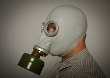 Μάσκα αερίου Στοκ Εικόνες