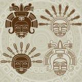 Μάσκα αμερικανών ιθαγενών Στοκ Εικόνα