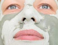 Μάσκα αργίλου Στοκ εικόνα με δικαίωμα ελεύθερης χρήσης