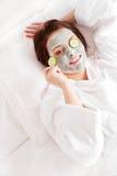 μάσκα αργίλου Στοκ φωτογραφία με δικαίωμα ελεύθερης χρήσης
