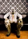 μάσκα ατόμων Στοκ Φωτογραφία