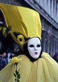 μάσκα Βενετία καρναβαλιού Στοκ Εικόνα