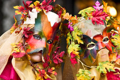 μάσκα Βενετία καρναβαλι&om Στοκ Εικόνα
